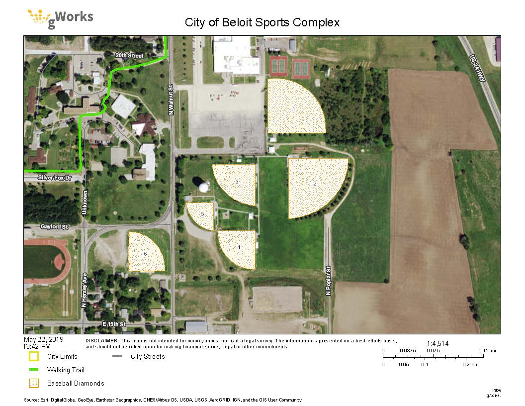 Sports Complex Map